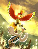 Johto's Tower Legends by yassui