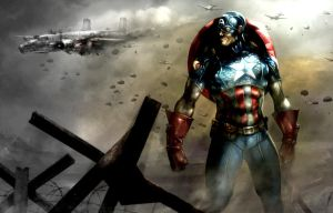 Captain America (Marvel) by Gintus29