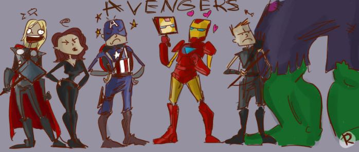 The Avengers. by Ayej