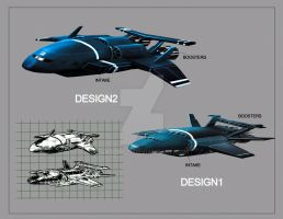 SPACESHIP DESIGN by JASONS21