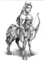 centaur by huy-truong