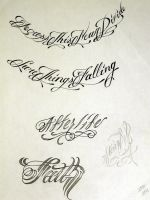 Tattoo Script 2 by StevenWorthey