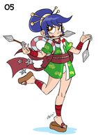 Capcom Girl-A-Day 05 by GreenWiggly