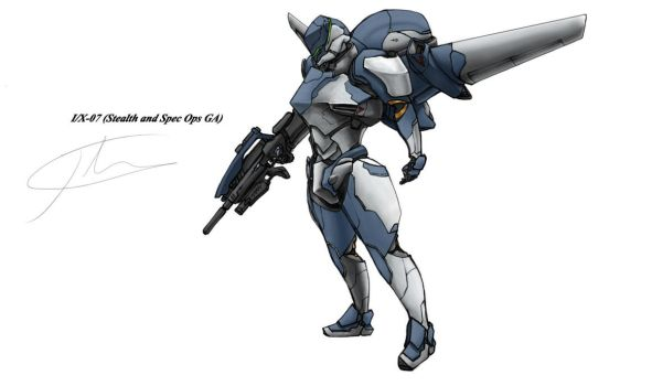 I/X-07 blue by hhello