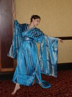Blue Kimono 3 by HiddenYume-stock