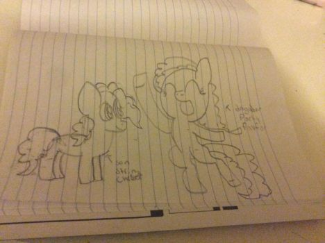 Party favor and string cheese by djbeadalicorn123