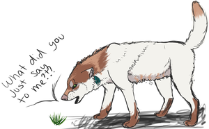 What did the grass say? by A-Need