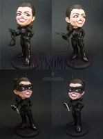 Catwoman - Anne Hathaway - mini figure by AlbertoCarrera