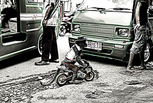 Topeng Monyet... by tuanjojoss