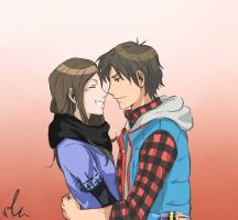 Akane and Junpei - 999 by Sango94