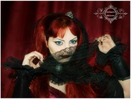 Vampiric Glance by Sylvia-Crystal