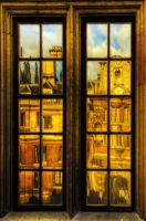 The other world, Clare College by bluescript
