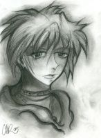 Fruits Basket - Charcoal Souma by daylight-dancer