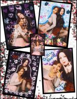 Nana+Hachi Purikura by IndecisiveTrollop