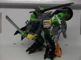 GDO SPRINGER CUSTOM GERWALK MODE WIP by forever-at-peace