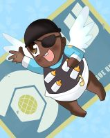 Baby Demoman by pridark