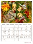 Simpsons Calendar October by ChnProd22
