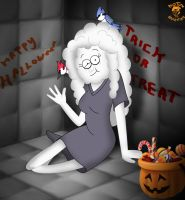 Halloween '14: CJ as Heather The Psychopath by TheEdMinistrator765