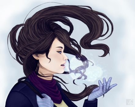 Cold - Final Art by VioletBerly