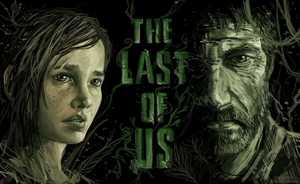 The Last of Us- Joel and Ellie Speed Paint! by BonnyJohn