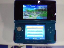 3DS display at Best Buy by elfofcourage