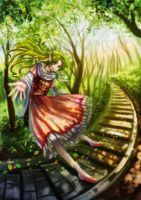 Elf_in_Forest by nori942