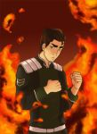 Bolin's Lavabending by wolfpup026