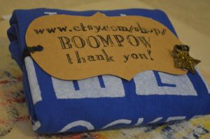 First Etsy Sale by TheBoomPow