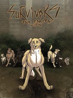 SURVIVORS THE EMPTY CITY (GRAPHIC NOVEL) (COVER) by xTrent968