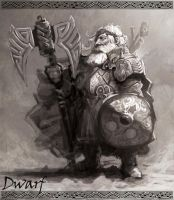 Dwarf Warrior by armandeo64