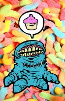 cupcake monster revised by nappydread