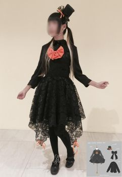 Halloween Dance Outfit - finished outfit by Demifluff