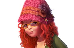 Red hair by darioid