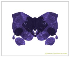 InkBlot Number 1 Print by che4u