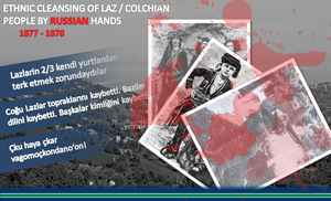 Ethnic cleansing of laz / colchian people by SkudasLazepe2012