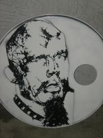 GG Allin on Bass Drum by MCOdy