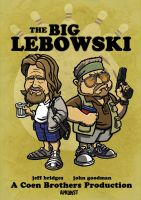 The Big Lebowski by Twoheaded-Dawg