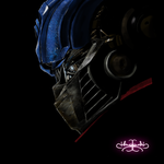 Optimus Prime Painting by Hazey1988
