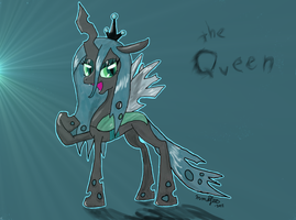Bow down, it's the Queen! by mmajee