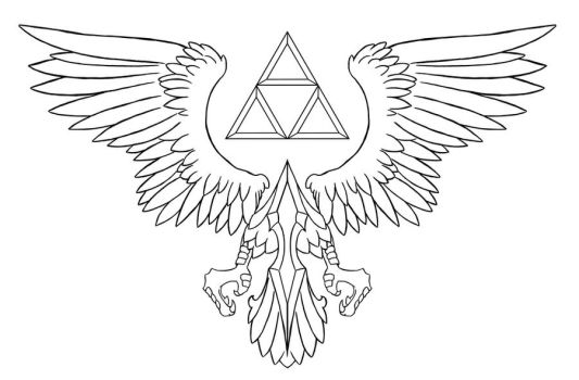 Crest of Hyrule by Tex-Tin-Star