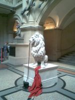 Bansky Lion by Elizzabath