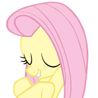 Fluttershy Self-hug by Yanoda