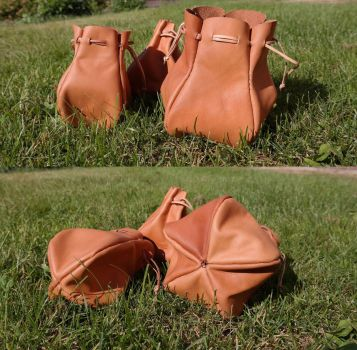 Quintet and quad pouch by Durnstaros