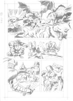 TALES OF AVALON Pag.18 pencils by benitogallego