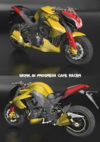 work in progress cafe racer by andry2fast