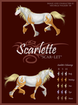 Scarlette Reference by MichelleWalker