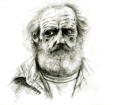 old man by youthful2