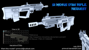 SI-Nexus-17BA Rifle by primnull
