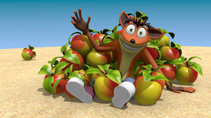 Wallowing in Wumpa Fruit by FaithSDK