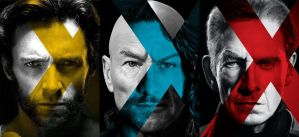 X-Men: Days of Future Past, trio poster by valmont1702